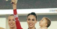 """Göksu Üçtaş Şanlı,""""Kadın sporcu anne olunca sporu bırakmasın"""""""