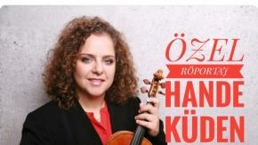 Berlin Filarmoni Orkestrası'na Türkiye'den kabul edilen ilk müzisyen Hande Küden ile özel röportaj