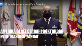 CDC Doktoru Anlattı,  Corona Virüse Karşı Evde Maske Nasıl Yapılır?