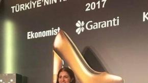 Büşra Yapıcı, 2017 Türkiye'nin Yöresinde Fark Yaratan Kadın Girişimci ödülünü kazandı