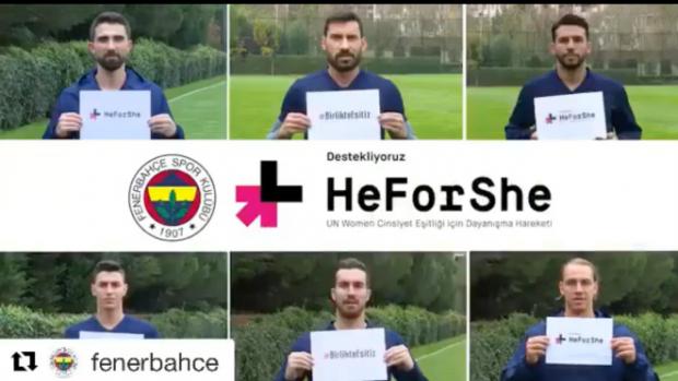 Fenerbahçe Spor Kulübü'nden #BirlikteEşitiz kampanyası
