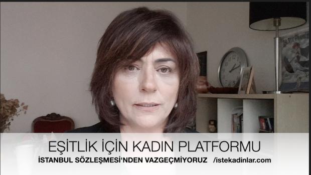 """EŞİK ;""""Cumhurbaşkanlığı'nın İstanbul Sözleşmesi Yok Hükmündedir"""""""
