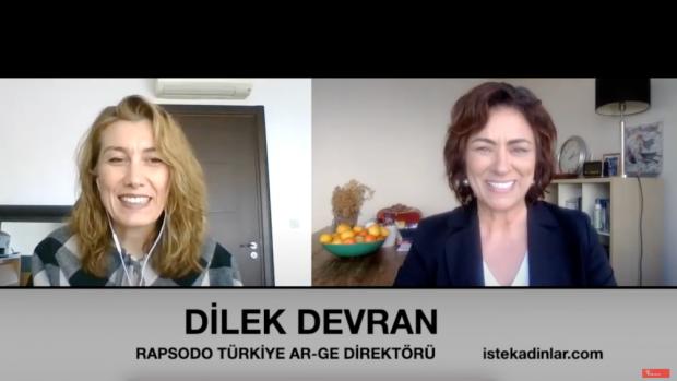 Rapsodo Türkiye Ar-Ge Ofisi Direktörü Dilek Devran ile özel röportaj
