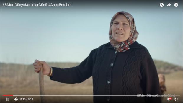Filli Boya - 8 Mart Dünya Kadınlar Günü / Anca Beraber Reklamı