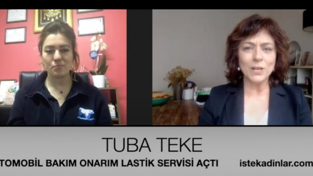 Oto tamirci kadın Tuba Teke ile özel röportaj