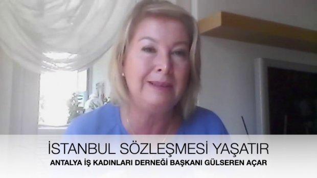 Antalya İş Kadınları Derneği Başkanı Gülseren Açar - İstanbul Sözleşmesi Nedir? Neden Önemli?