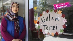 Ev kadını Ferda Şahin, atölyesini açtı, KOSGEB desteğiyle işini büyüttü