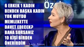 """Leyla Alaton'dan, CNN Türk'de Deniz Bayramoğlu'na eleştiri;""""Benden başka kadın yok muydu?"""""""