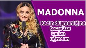 Madonna'dan kadınlara muhteşem bir konuşma