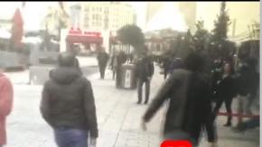 Ortaköy Reina katlimanı yapan teröristin selfie fotoğraf video görüntüsü kamerada