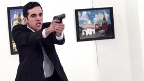 Rus büyükelçi vurulma anı