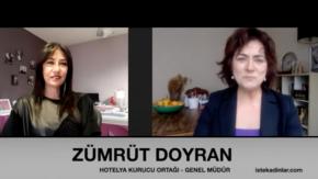 Hotelya#039;nın Kurucu Ortağı ZümrütDoyran ile Özel Röportaj